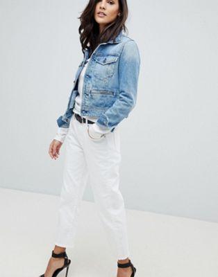 G-Star - 3301 - Boyfriend jeans a vita medio alta al polpaccio
