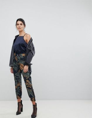 G-Star Be RawTapered Floral Cargo Trouser