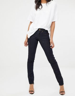 Image 1 of G-Star midge mid rise straight leg jean in indigo