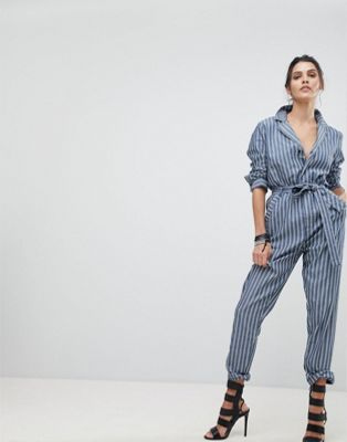 G-Star Stripe Jumpsuit