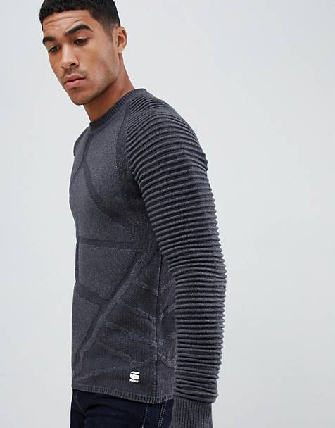 G-Star Suzaki turtleneck sweater in black