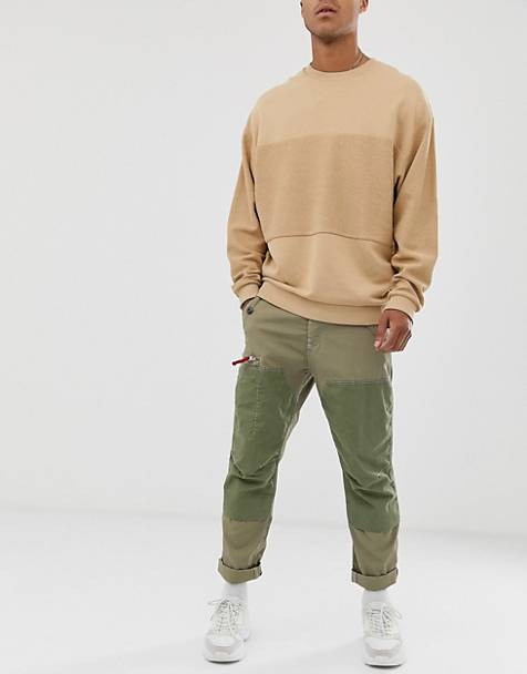 G-Star Torbin straight tapered fit cargo pants in khaki