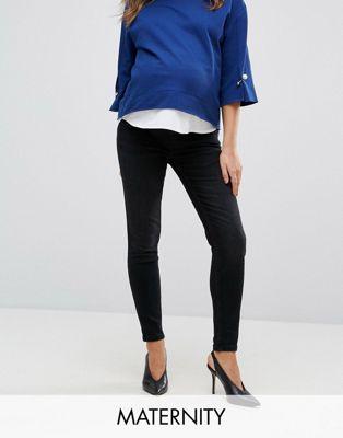 GeBe Maternity - Jeans skinny au-dessus du ventre - Noir