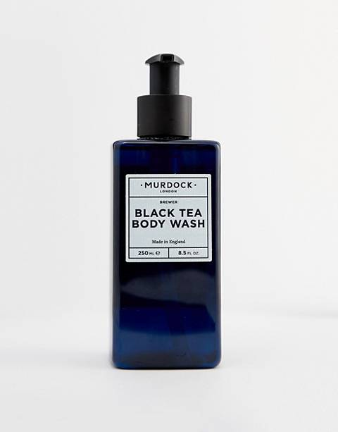 Gel corporal de té negro de Murdock London
