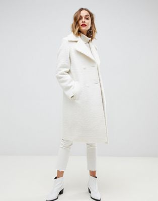 Gianni Feraud - Oversized jas in teddystof