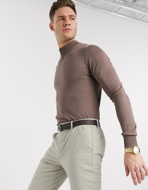 Gianni Feraud - Premium muscle-fit coltrui met stretch en kleine steek