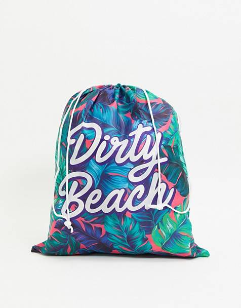 Gift Republic dirty beach laundry bag
