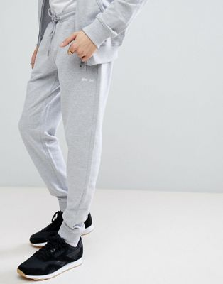 Gio Goi Slim Fit Jogger In Grey Marl