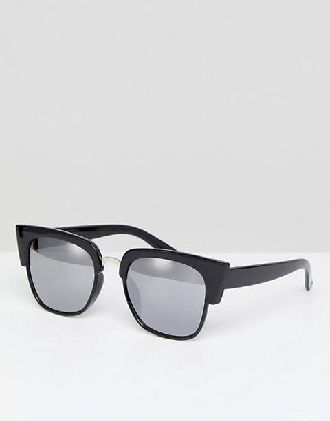 Glamorous Black Oversized Square Sunglasses