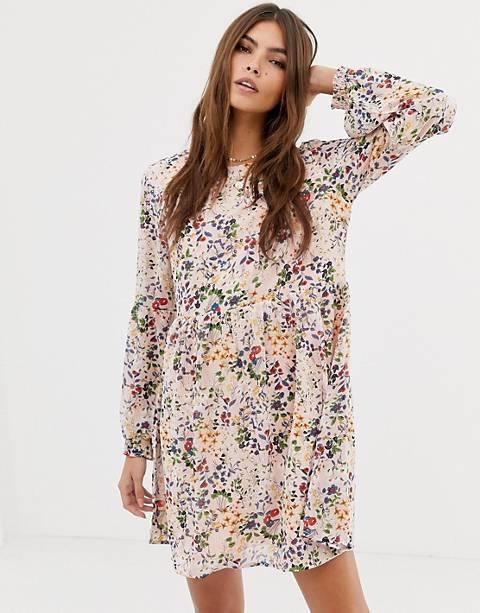 Glamorous ditsy floral print dress