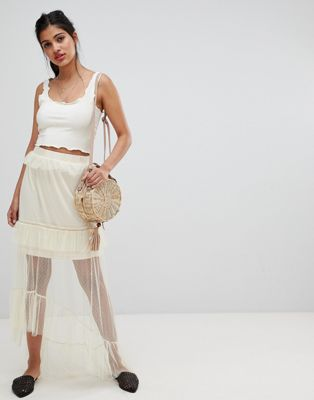 Glamorous - Gonna midi in tulle