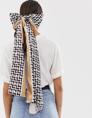 Image 1 of Glamorous multi way monogram scarf