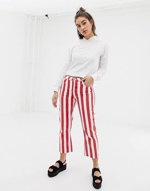 Glamorous stripe skinny jeans
