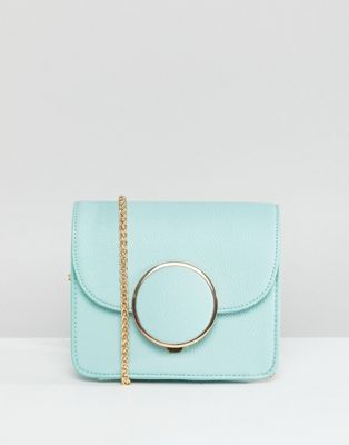Image 1 of Glamorous Structured Cross Body Bag With Circle Detail