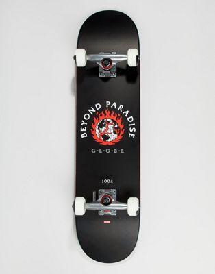 Globe Ablaze svart skateboard - 7.75 inch