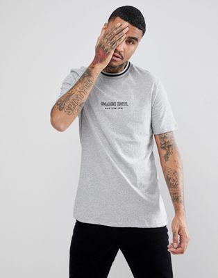 Globe - New Yorker grå t-shirt