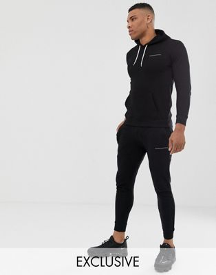 Good For Nothing – Enge Jogginghose in Schwarz mit Logo
