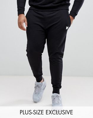 Good For Nothing PLUS Skinny Joggers In Black with Small Logo Exclusive to ASOS