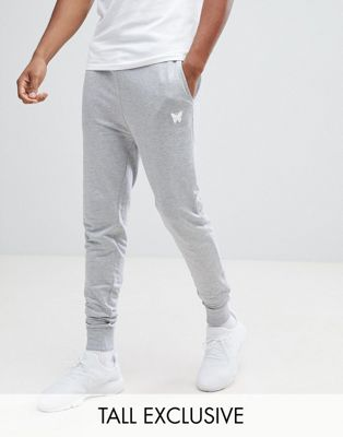 Good For Nothing Skinny Joggers in Gray with Small Logo Exclusive to ASOS