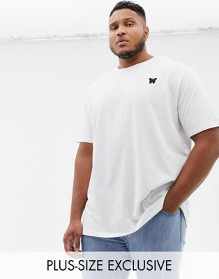 Good For Nothing t-shirt in white with chest logo exclusive to ASOS