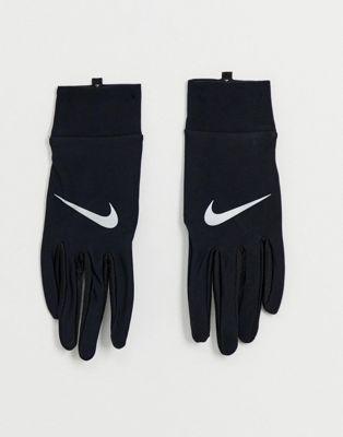 Guantes negros ligeros de Nike Running