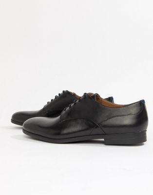 Afbeelding 1 van H By Hudson - Axminster - Nette schoenen in zwart leer