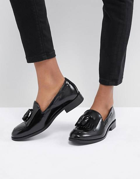 H by Hudson Fringe Leather Loafer