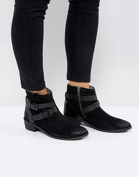 4f661da016556e H by Hudson Meeya Suede Ankle Boots