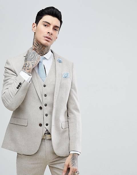 Harry Brown Donnegal Slim Fit Suit Jacket