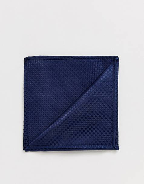 Harry Brown plain pocket square