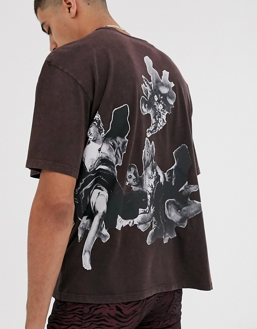 Heart & Dagger tee with side and back print