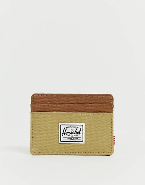 Herschel Supply Co - Charlie - Porte-cartes avec RFID - Beige/fauve