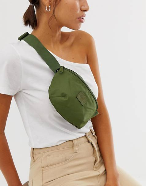 Herschel Supply Co Fourteen khaki green fanny pack