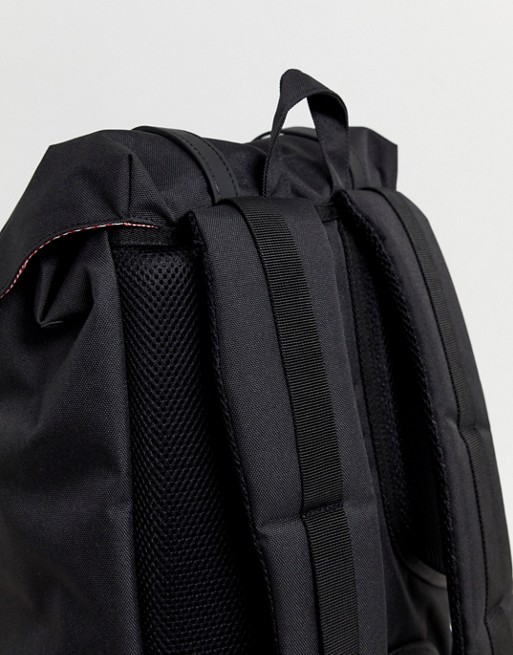 efaebc887b Herschel Supply Co Little America backpack in black 25l