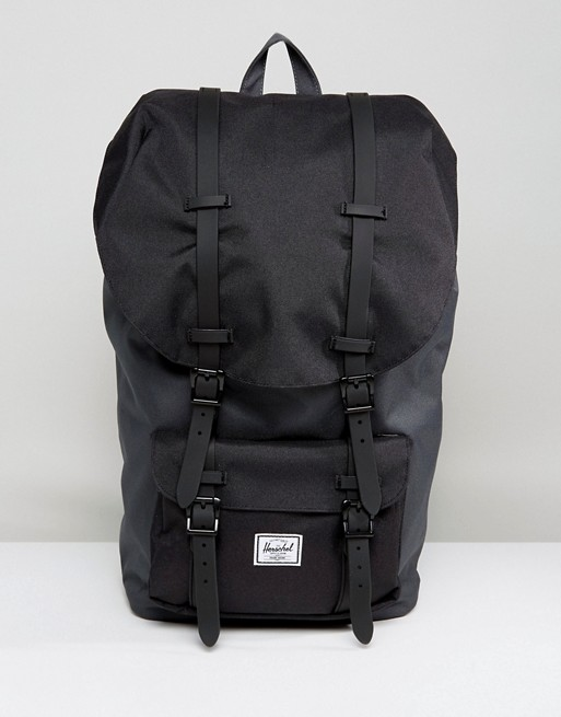 404c083199 Herschel Supply Co. Little America Backpack in Black Contrast 25L