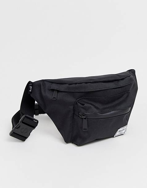 869d4185580 Hershel Supply Co Seventeen black bum bag with tonal zip
