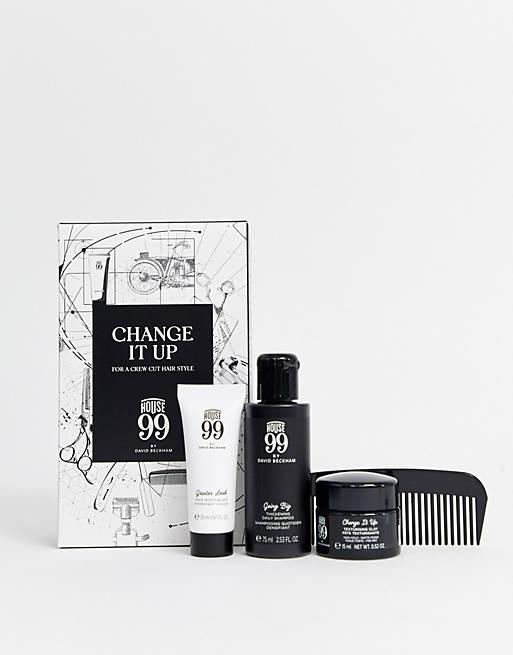 House 99 - Kit de soins pour des cheveux classiques et lisses