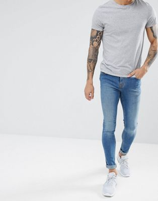 Hoxton Denim - Skinny jeans in midwash