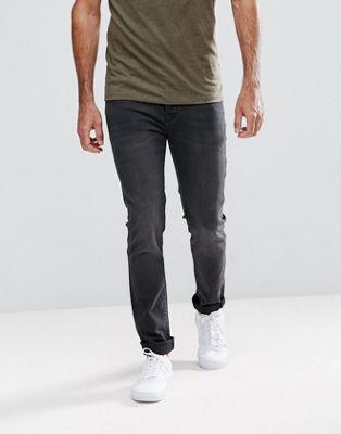 Hoxton Denim – Svarta jeans med extra smal passform