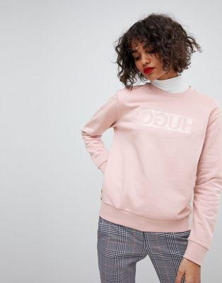 HUGO – Sweatshirt mit Logo