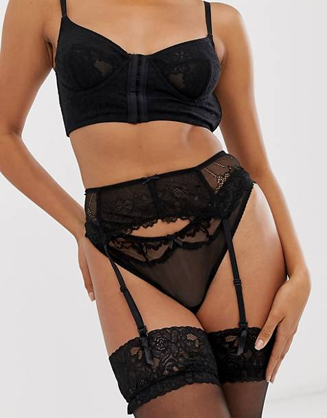 0d363e03a Hunkemoller Suspender Belt. Hunkemoller Suspender Belt.  24.00 · Hunkemoller  Toril eyelash lace cut out ...