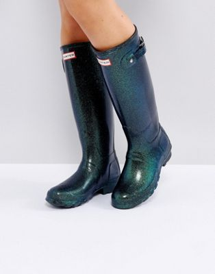 Hunter Original Neptune Starcloud Tall Gumboots