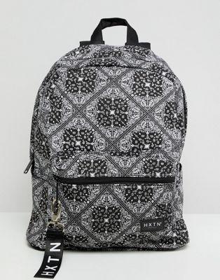 Image 1 of HXTN Supply Prime backpack in bandana print