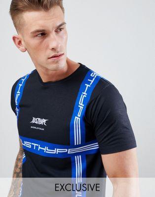 Hype - T-shirt con stampa stile corsa - In esclusiva per ASOS