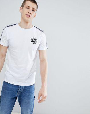 Bild 1 av Hype Vit t-shirt med sidorand