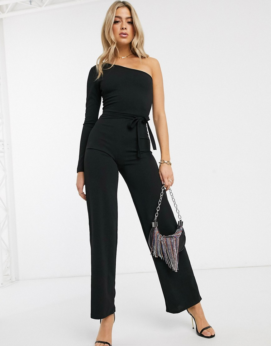 I Saw It First - Oneshoulder-jumpsuit-Sort