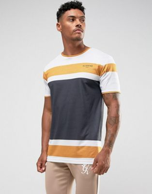 Image 1 of Illusive London T-Shirt In White With Stripes