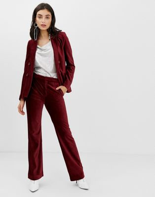 Image 1 of In Wear Talia corduroy flared trousers