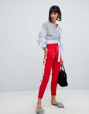 In Wear - Ziba - Pantaloni con riga a contrasto