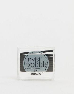 Invisibobble - Basic True - Élastiques pour cheveux - Noir